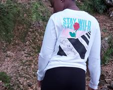 Brooklyn Cloth White Stay Wild Long Sleeve Tee Review