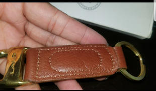 LAND Leather Cosmos Throwback Key Ring Review