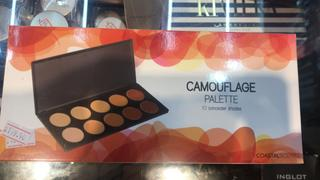 Coastal Scents Camouflage Concealer Palette Review