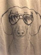 Inkopious Hans the Dachshund - Women's Modern Fit V-neck Shirt Review