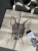 Inkopious Knox the Rat Terrier - Tote Bag Review