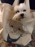 Inkopious Francesca the Maltipoo - Tote Bag Review