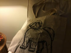 Inkopious Halftone Shih Tzu Lion Cut  - Tote Bag Review