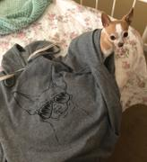 Inkopious Amos the Chihuahua - French Terry Hooded Sweatshirt Review
