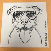 Inkopious Major the Pitbull - Decal Sticker Review