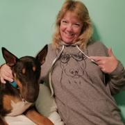 Inkopious Jett the Bull Terrier - French Terry Hooded Sweatshirt Review