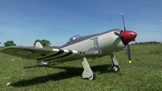 Motion RC FlightLine Hawker Sea Fury 1200mm (47) Wingspan - PNP Review