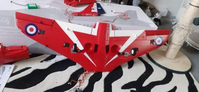 "Motion RC Freewing 6S Hawk T1 ""Red Arrow"" 70mm EDF Jet - PNP Review"