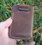 Cave Leather Co. The Anderson Wallet - Brown Horween Chromexcel Review