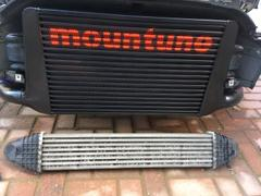 mountune Large Capacity Alloy Intercooler Upgrade Review