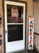Essential Stencil Vertical God Bless America | Patriotic Stencil Review