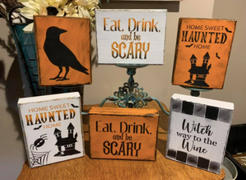 Essential Stencil Haunted House Mini Tag Stencil Set (3 Pack) Review