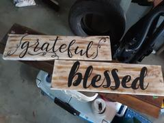 Essential Stencil Grateful, Thankful, Blessed Stencil Set Review