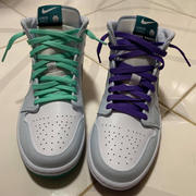 Hyperlaces Mint Green Flat Laces Review
