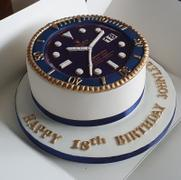 CAKESBURG Luxury Rolex Submariner Cake - Blue Review