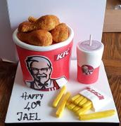 CAKESBURG KFC Cake Review