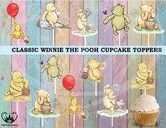 cmpartycreations Classic Winnie the Pooh Cupcake Toppers Die Cuts Review