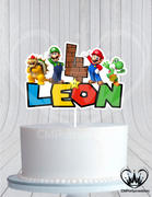 cmpartycreations Mario Brothers Birthday Cake Topper Review