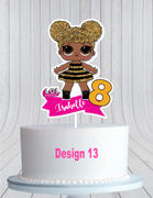 cmpartycreations LOL Surprise Dolls Cake Topper, L.O.L Cake Topper Review
