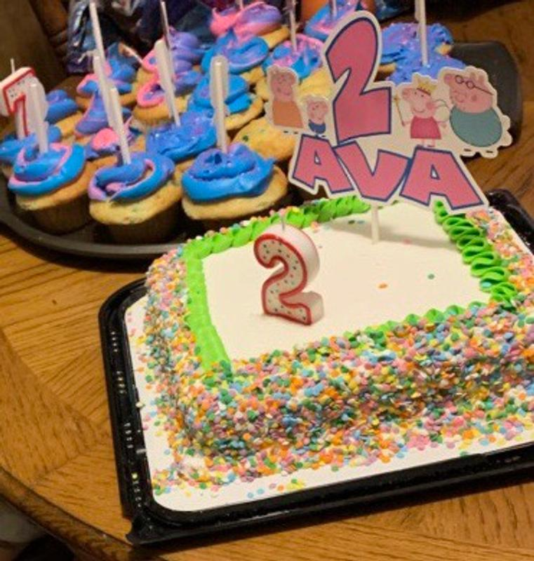 Peppa Pig Birthday Cake Decorations  from cdn.stamped.io