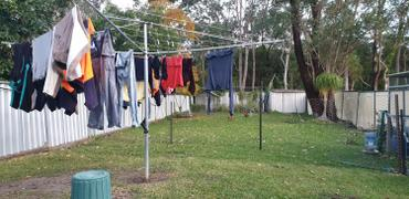 Lifestyle Clotheslines Austral Deluxe 4 Rotary Clothes Hoist Review