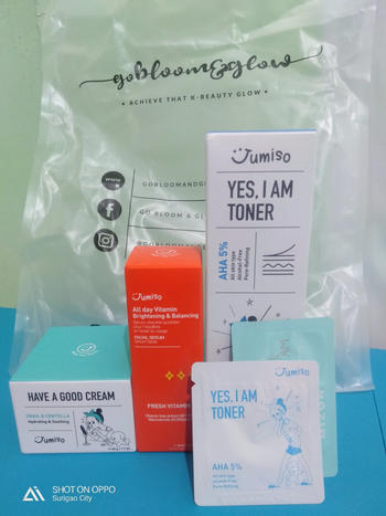 Go Bloom & Glow Skincare Set Review