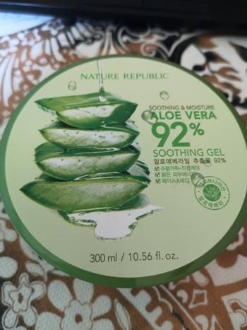 Go Bloom & Glow Soothing & Moisture Aloe Vera 92% Soothing Gel Review