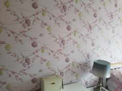 Brooklyn Trading Arthouse Vintage Glitter Tianna Lavender Pink Wallpaper Review