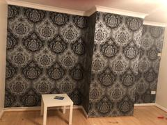 Brooklyn Trading Arthouse Vintage Glitter Berkeley Damask Silver Wallpaper Review