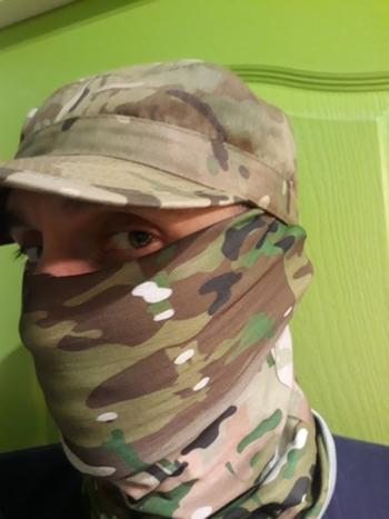 TrendyVibes.CO Multi-Purpose Simple Camouflage Face Shield Neck Gaiter Review