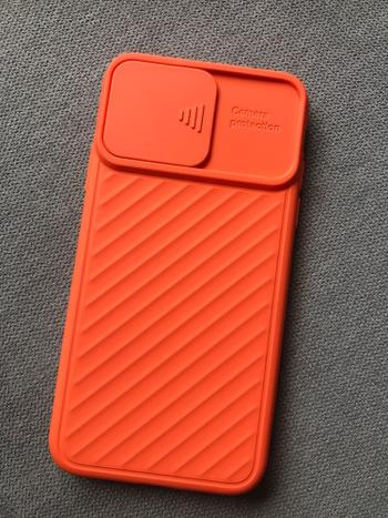 TrendyVibes.CO Soft Silicone Phone Case For iPhone with Camera Shield Slide Review