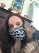 WeenieWarmers Deluxe Dachshund Print 3-Pleat Adult Size Personal Safety Mask Review