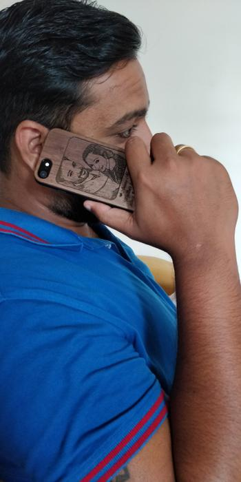 Woodgeek store Custom Engraved Phone Cases For Couples Review