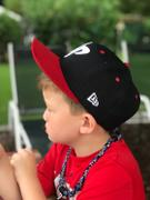 Dude Perfect Official DP x New Era 9Fifty Snapback // Red + White + Blue Review