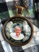 LOVE & LINEN My Angel in Heaven Memorial Photo Necklace Review