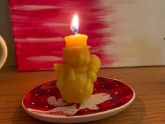 Forever Bee Snowman Beeswax Candle Review