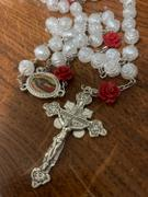 Christian Catholic Shop Our Lady Of Guadalupe Pearl Rose Rosary Review
