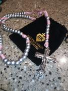 Christian Catholic Shop Holy Trinity Pink Paracord Rosary - Catholic Rosary Beads by Revolution Rosaries Review