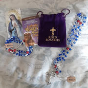 Christian Catholic Shop Catholic Rosary of the Month Club - Catholic Rosary Beads by Risen Rosaries - FREE Catholic Bracelet Every Month Review