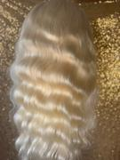 Shelahair #613 Blonde Transparent Lace Front Wig 150% Body Wave Shela Hair Review