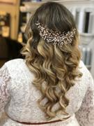 Cassandra Lynne Jewel Spray Wedding Headpiece Review