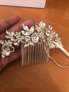 Cassandra Lynne Bridal Hair Comb of Pear and Marquise Crystals Review