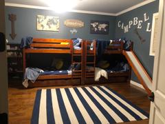 Maxtrix Kids Full Medium Bunk Bed with Slide Review