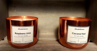 Candle Shack Small Smooth Candle Container - Copper Finish Review