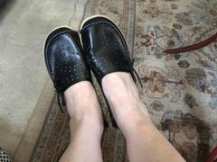 Tiosebon/Konhill Women's Leather Loafers - Hollow Review