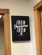 Flipside Canvas Iron Sharpens Iron Review
