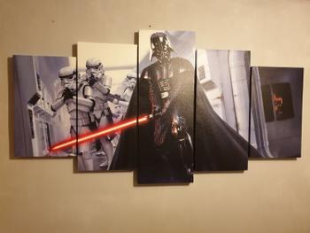 Panel Wall Art Star Wars Darth Vader Review