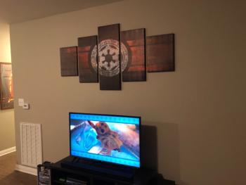 Panel Wall Art Empire Sigil of Star Wars Review