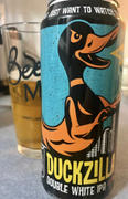 CraftShack® Duck Foot Duckzilla Double White IPA Review