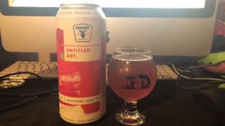 CraftShack® Untitled Art / Drekker Raspberry Sour IPA Review